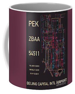 Pek Beijing Capital Airport Coffee Mug