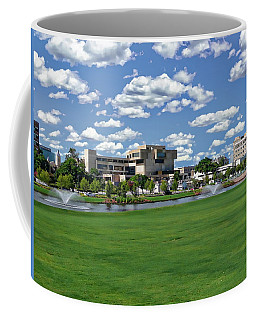 Coffee Mug featuring the photograph Pensacola Financial District by Anthony Dezenzio