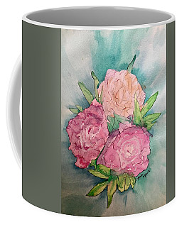 Peonie Roses Coffee Mug