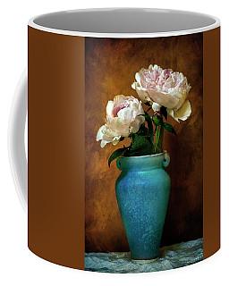 Peonies In Spring Coffee Mug