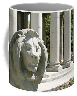 Peristyle And Lion - New Orleans Coffee Mug