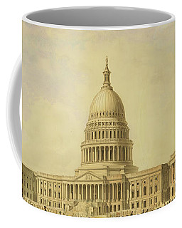 Perspective Rendering Of United States Capitol Coffee Mug
