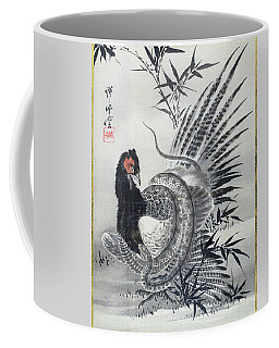 Pheasant Caught By A Snake - Digital Remastered Edition Coffee Mug
