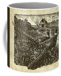 Pheasants Coffee Mug