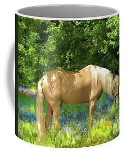 Phoenix In The Lupines Coffee Mug