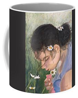 Picking Daisies Coffee Mug