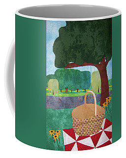 Picnic At Ellis Pond Coffee Mug