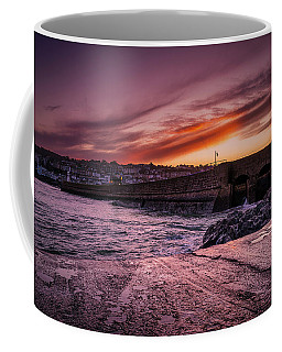 Pier To Pier Sunset Coffee Mug