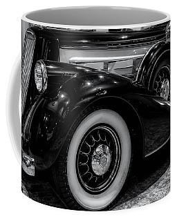 Coffee Mug featuring the photograph Pierce Arrow Circa. 1937 by Michael Hope