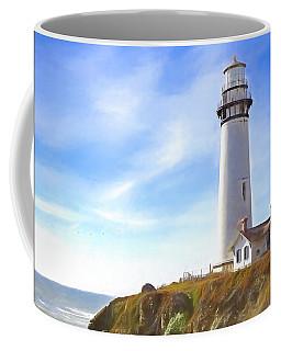 Pigeon Point Lighthouse Ca Coffee Mug