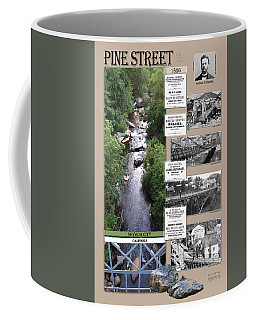Pine Street Bridge, Nevada City, Ca Coffee Mug