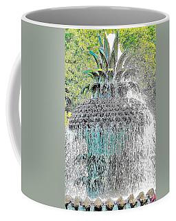 Pineapple Fountain Coffee Mug