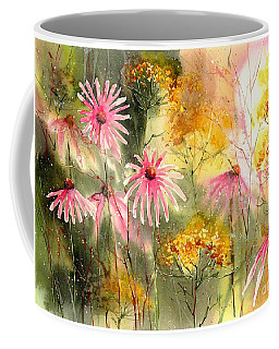 Pink And Gold Coffee Mug