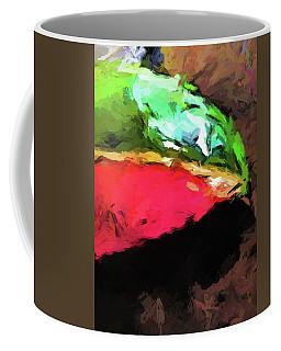 Pink And Green Watermelon Coffee Mug