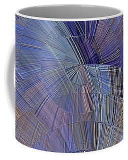 Pink, Blue And Purple Coffee Mug