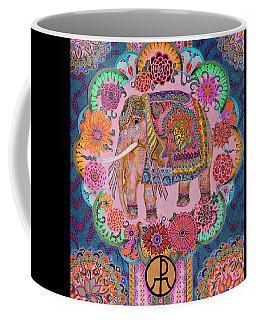 Pink Elephant Coffee Mug