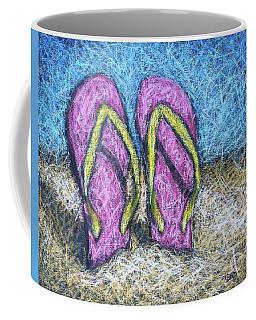 Pink Flip Flops Coffee Mug