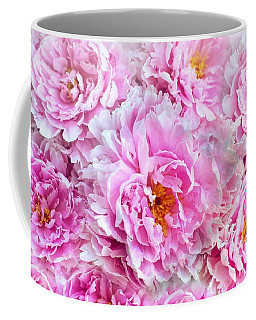 Pink Flowers Everywhere Coffee Mug