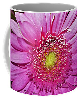 Pink Flowers P4 Coffee Mug