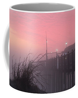 Pink Fog At Dawn Coffee Mug