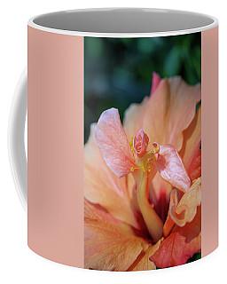 Pink Hibiscus Flower Coffee Mug