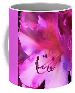 Pink O'keefe Coffee Mug