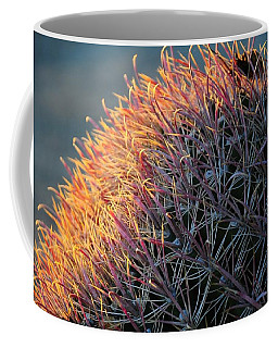 Pink Prickly Cactus Coffee Mug