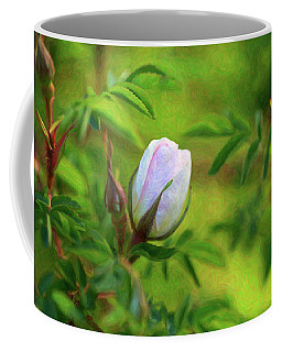 Pink Rose - Lady In Waiting - By Omaste Witkowski Coffee Mug
