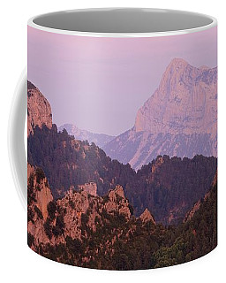 Pink Skies And Alpen Glow In The Anisclo Canyon Coffee Mug