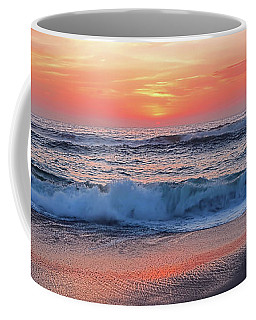 Pink Sunrise Panorama Coffee Mug