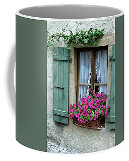 Pink Window Box Coffee Mug