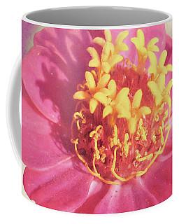 Pink Zinnia Isolated Coffee Mug
