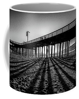 Coffee Mug featuring the photograph Pismo Beach Pier by Mike Long