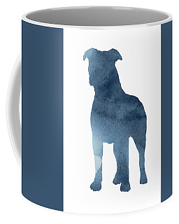 Pitbull Picture Staffordshire Bull Terrier Paintings Dog Poster Coffee Mug