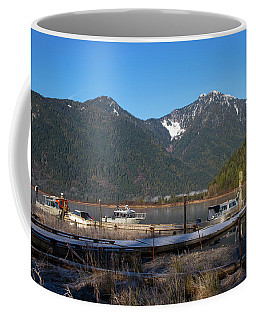 Pitt Lake Winterimpression Coffee Mug
