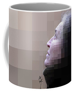 Pixel Portrait Coffee Mug