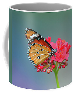 Plain Tiger Or African Monarch Butterfly Dthn0246 Coffee Mug