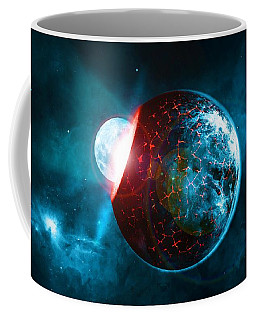 Planet Impact Coffee Mug