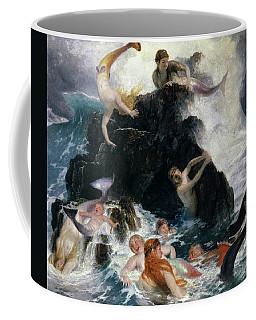 Play Of The Nereides, 1886 Coffee Mug