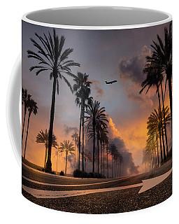 Coffee Mug featuring the photograph Playa Vista by John Rodrigues