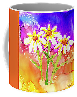 Playful Daisies Coffee Mug