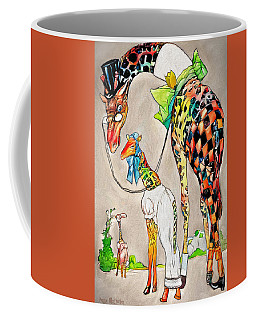 Coffee Mug featuring the digital art Playing Dress Up by Pennie McCracken