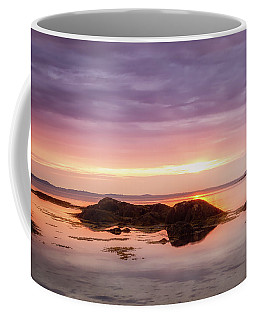 Coffee Mug featuring the photograph Plum Cove Glow, Gloucester Ma. by Michael Hubley