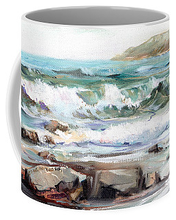 Overlooking Plymouth Beach Coffee Mug