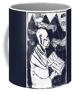 Poet Reading To Wind Clouds Otdv3 13 Coffee Mug