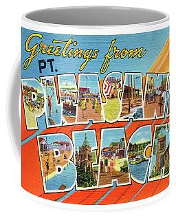 Point Pleasant Beach Greetings Coffee Mug