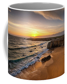 Pointe Du Percho And Port Blanc Coffee Mug