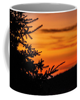 Pointing To Dawn Coffee Mug