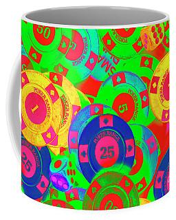 Poker Stacks Coffee Mug