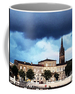 Coffee Mug featuring the photograph Poking The Storm by Rick Locke
